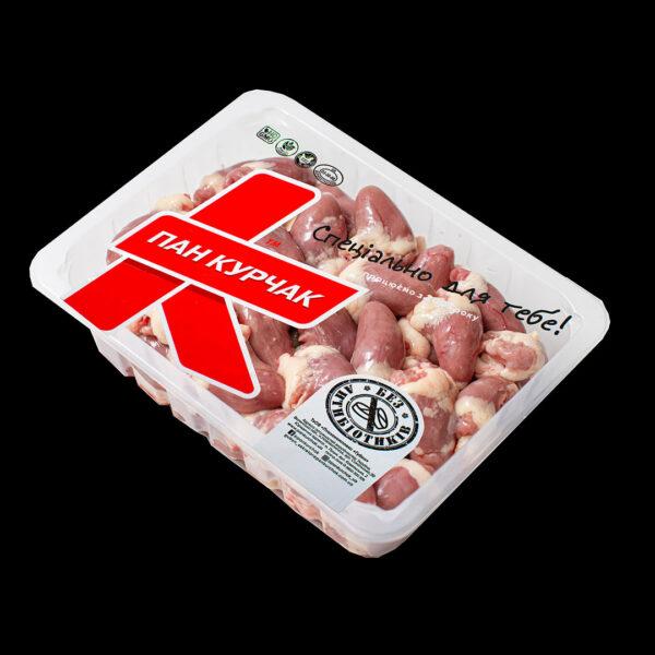 Купити серце куряче оптом, chicken packaging, Пан Курчак лоток
