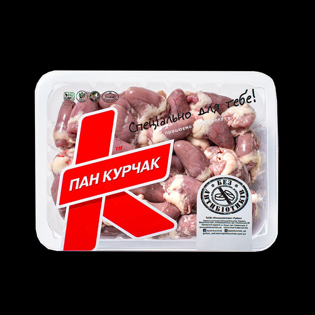 Купити серце куряче оптом, Пан Курчак лоток, курятина в лотке