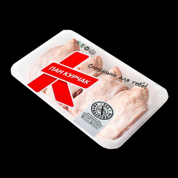 Купити спинка тушки курчати-бройлера оптом, Пан Курчак лоток, chickenpackaging