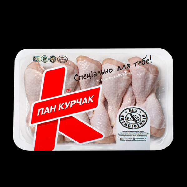 Купити гомілка курчати-бройлера оптом, Пан Курчак лоток, chickenpackaging