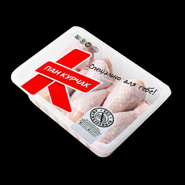 Купити гомілка курчати-бройлера фасована оптом, Пан Курчак лоток, chickenpackaging