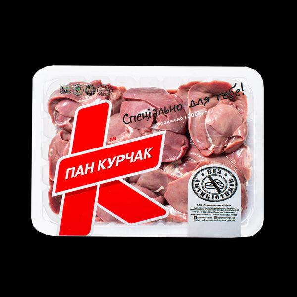 Купити печінку курчати-бройлера оптом, Пан Курчак лоток,курятина охолоджена